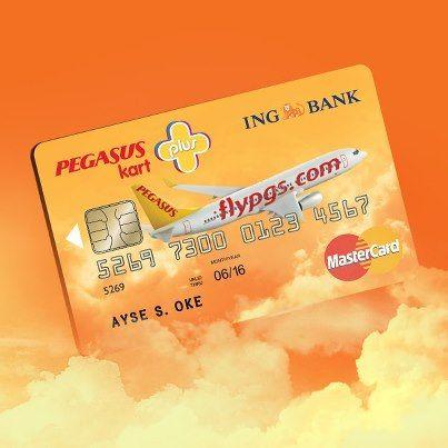 Ing Bank - Pegasus Plus Kredi Kartı