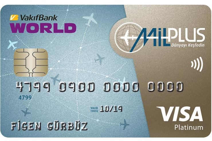 Vakıfbank - MilPlus Kredi Kartı
